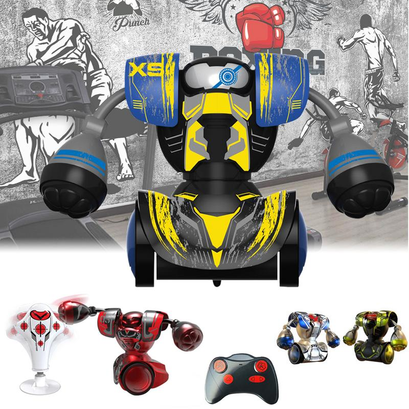 Boxing Fight Fighting Double Play Robot Children Intelligent Remote Control Boy Toy RC Battle Boxing Robot