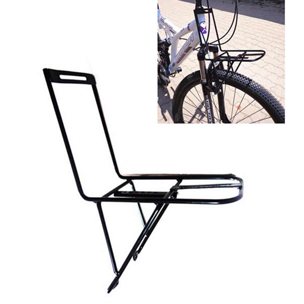 Front Luggage Rack Convinent Portable Creative Functional Bicycle Carrier  Shelf Front Rack for Biycycle Accessories Stand Bike