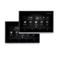 2x10,1 дюймов HD 1080 P Android 6,0 ram 1,5 GB rom 8 GB wifi 3g/4G BT HDMI Зеркало Ссылка OBD TPMS FM подголовник заднего сиденья мониторы