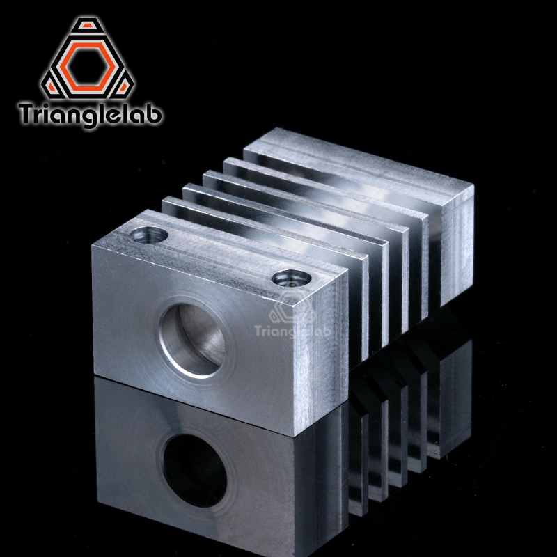 trianglelab CR10 heatsink All Metal  Hotend upgrade Kit for CR-10 Ender3 Printers micro swiss CR10 hotend  Titanium heat breaker