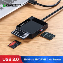 Ugreen Micro SD Card Adapter USB OTG Card Reader(China)