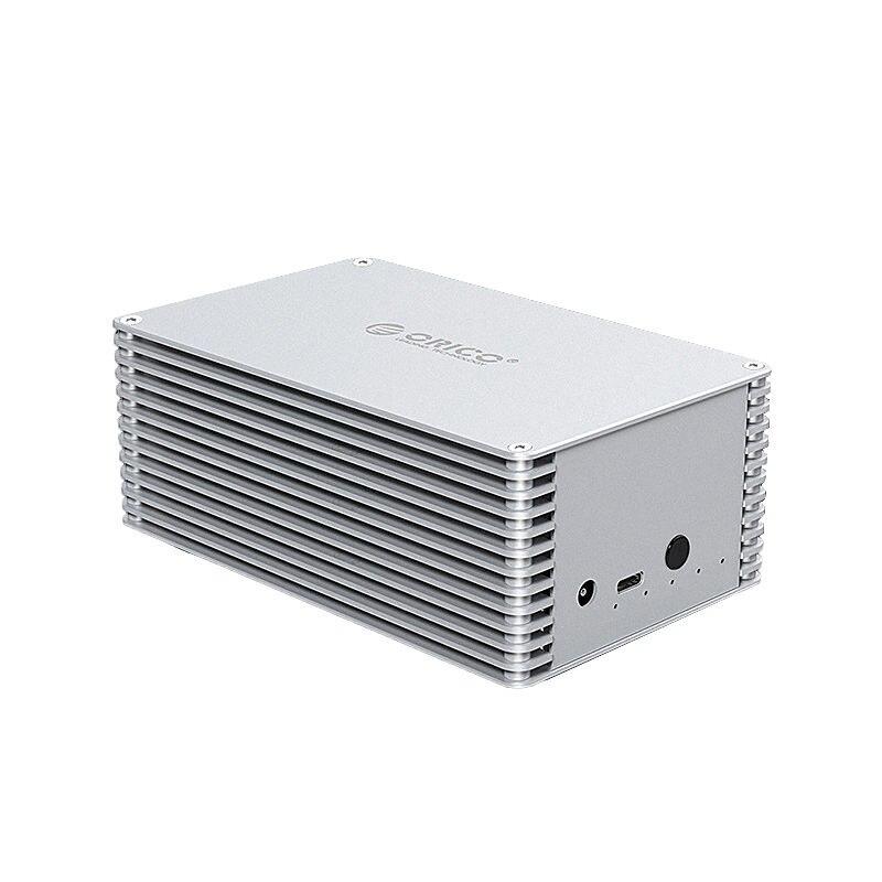 Boîtier disque dur bricolage Orico 2.5 pouces Sata vers Usb 3.1 Ssd adaptateur boîtier haut débit boîtier de disque dur externe pour Seagate Ssd 20 To Max