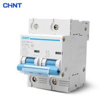 CHNT Small Air Switch High Power Household Circuit Breaker DZ158 2P 100A Diode Circuit Breaker new 29690 circuit breaker compact ns100h tmd 100a 4 poles 4d