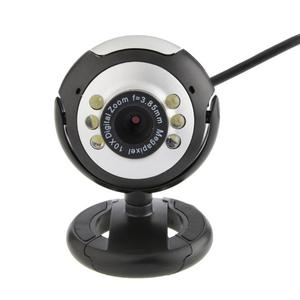 HD 12.0 MP 6 LED USB Webcam Ca