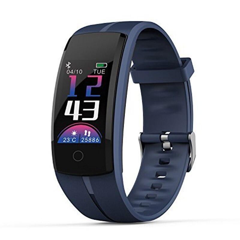 Smart Wristband QS100 Multi-Sports Mode Blood Pressure Oxygen Monitoring Whatsapp Information Push Watch(Navy blue)Smart Wristband QS100 Multi-Sports Mode Blood Pressure Oxygen Monitoring Whatsapp Information Push Watch(Navy blue)