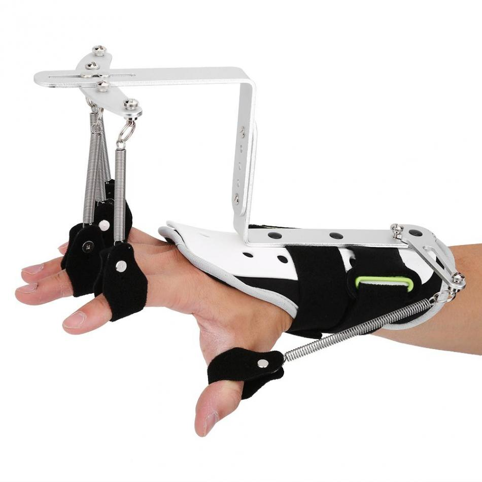 Finger Splint Protector Orthotics Medical Hand Rehabilitation Training Joint Brace for Stroke Hemiplegia Patient Tendon Exercise