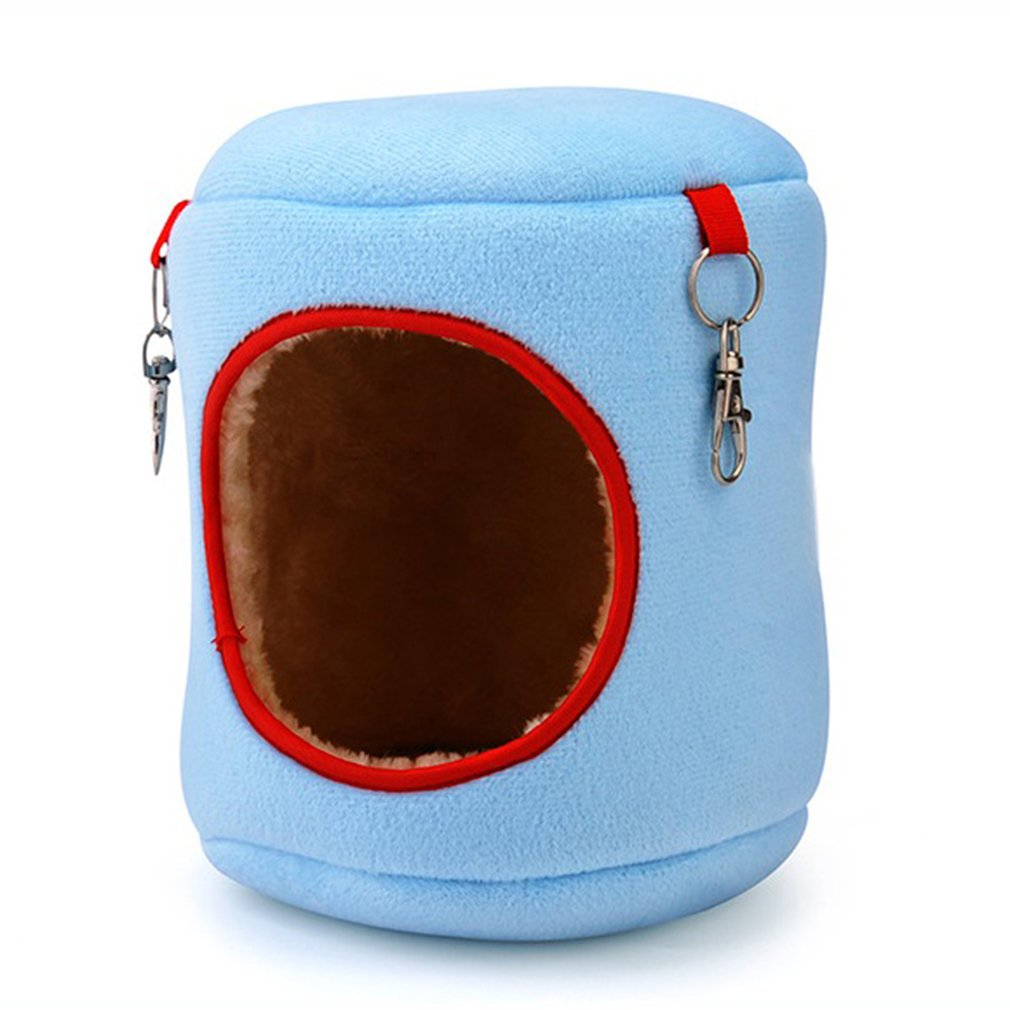 Warm Bed Rat Hammock Squirrel Winter Toys Pet Hamster Cage Durable Hanging Nest Toy Comfortable Pet Supplies