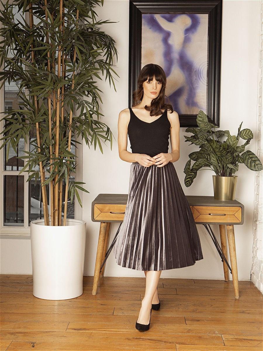 Pleated skirt C.H.I.C female pleated skirt c h i c female