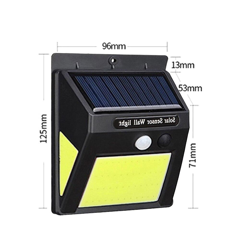 Walkway Lights Street Lamp Outdoor Motion Sensor Wall Light Security Lamp Home Induction Light Durable Solar Garden Lamp