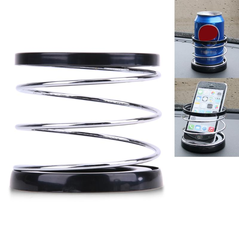 Image 1 - Creative Folding Auto Car Drink Holder ABS+Wire Automotive Mount Holder Stand Car Cup Holder Organizer Universal Car Styling-in Drinks Holders from Automobiles & Motorcycles