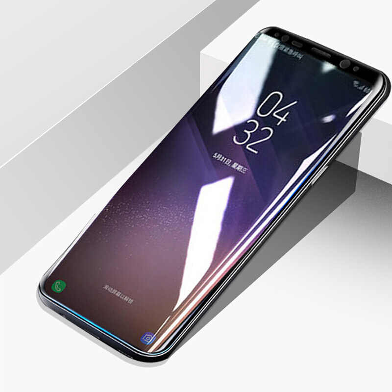 Cubierta Completo Protector de Pantalla de Vidrio Templado para Samsung Galaxy 8 S8 7 Borde S Note