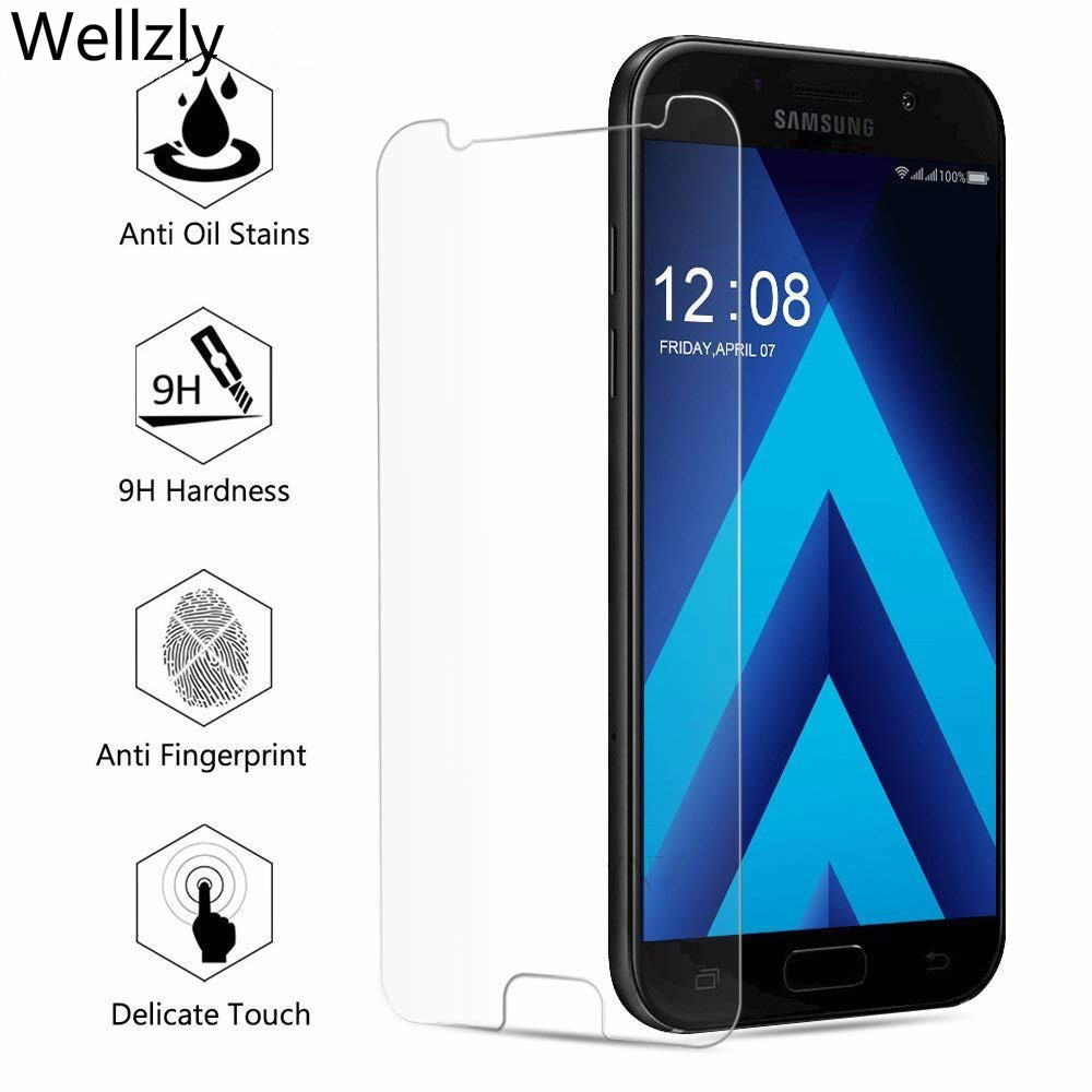 Tempered Glass For Samsung Galaxy S7 J3 J5 J7 Pro 2017 Screen Protector For Samsung A6 A8 J2 Pro J4 J6 J8 2018 Protective Glass