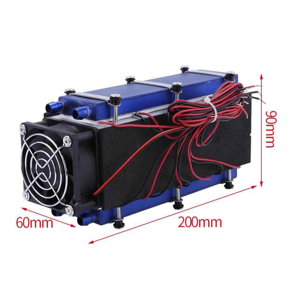 Schładzacz termoelektryczny s 12V 576W 8-Chip TEC1-12706 DIY schładzacz termoelektryczny chłodzenia chłodzenie powietrzem urządzenie narzędzie