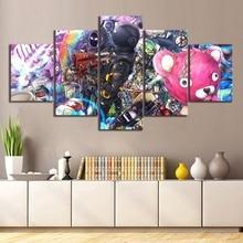 5 шт. Fortnight битва Royale обнимашка Лидер команды Темный Вояджер Ворон форт игры плакат Nite стены книги по искусству для Декор в гостиную