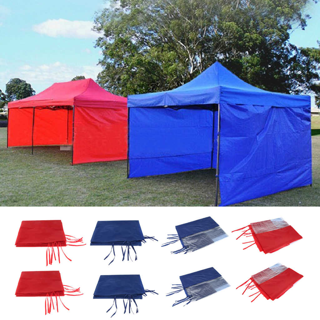 differently e6516 c183b 2*3M/2*6M Canopy Side Wall Carport Garage Enclosure Shelter Tent Party Sun  Wall Sunshade Shelter Tarp Sidewall Sunshade
