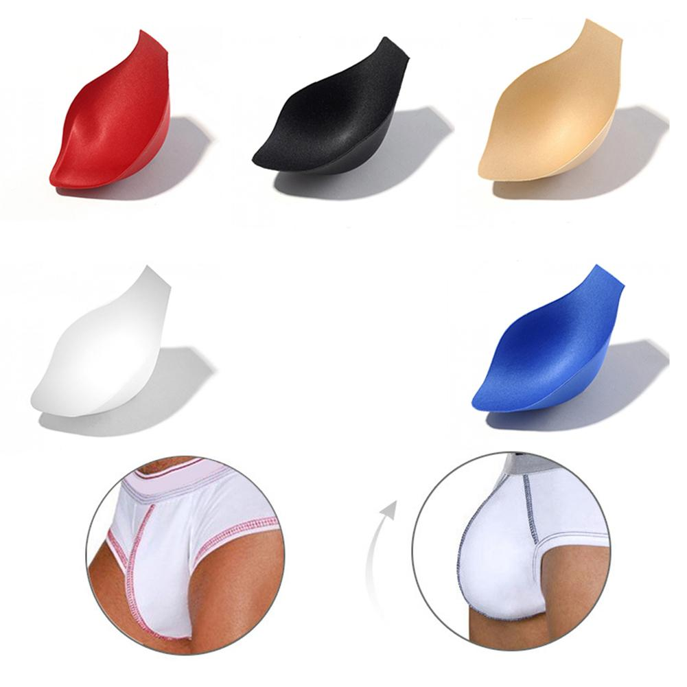 2019 Drop Shipping Men Bulge Enhancing Underwear Front Cushion Pad Push Up Cup Penis Protection Sex Toys For Men Sex Shop