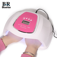 6.18 BLUERISE 72w Hybrid Nail Lamp For Manicure LED UV Lamp For Nails Extension Drying Varnish UV Light Smart Nail Lamp Dryer