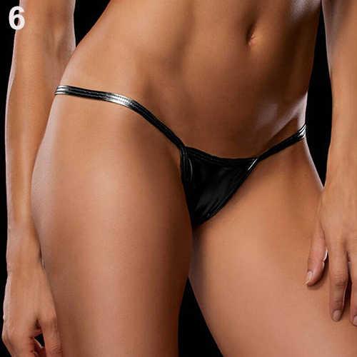 Las mujeres Sexy V-tangas G-stanillo Lencería bragas ropa interior