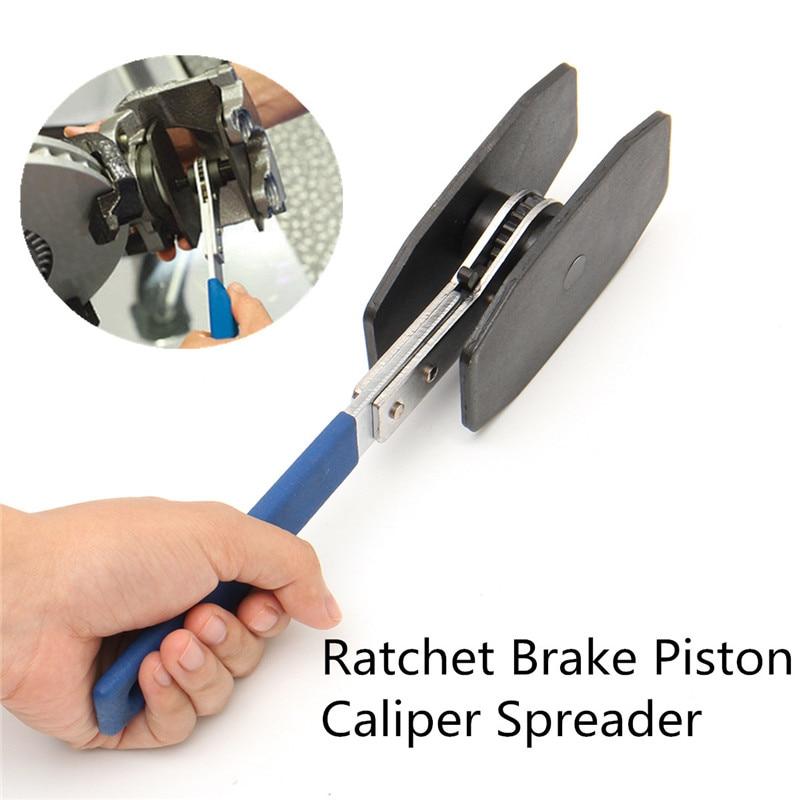 Car Ratchet Brake Piston Caliper Spreader Tool Brake Caliper Press Twin Quad Separator Pad Install Tool WD130