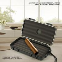 High Quality Cigarettes Cigar Humidor Humidifier Box Dust proof Shockproof Cigar organizers Home Travel Cigar Storage Case