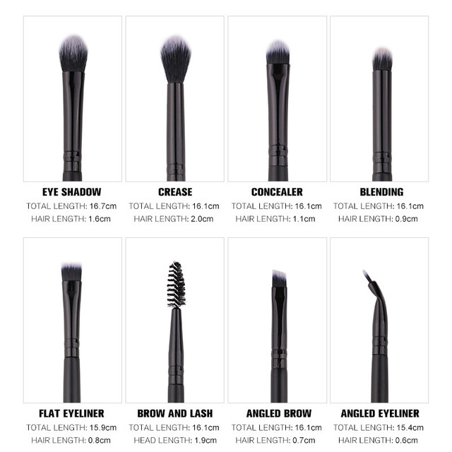 Soft makeup brushes 4/7/15 pcs, Free shipping in Canada | online brands