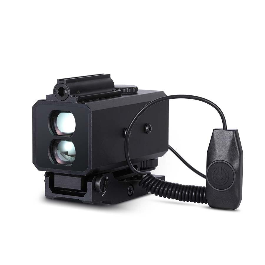 LE032 Mini Range Finder for Night Hunting Opitcal Laser Designator Rangefinder 150g Weight Wild Game Sight