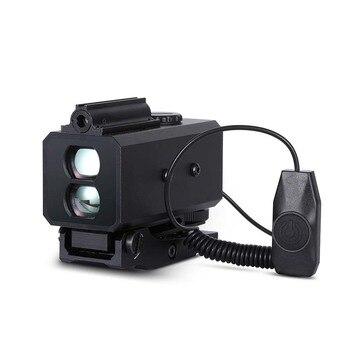 LE032 Mini Range Finder per la Caccia di Notte Designatore di Laser Telemetro 150g di Peso Wild Game Vista Opitcal