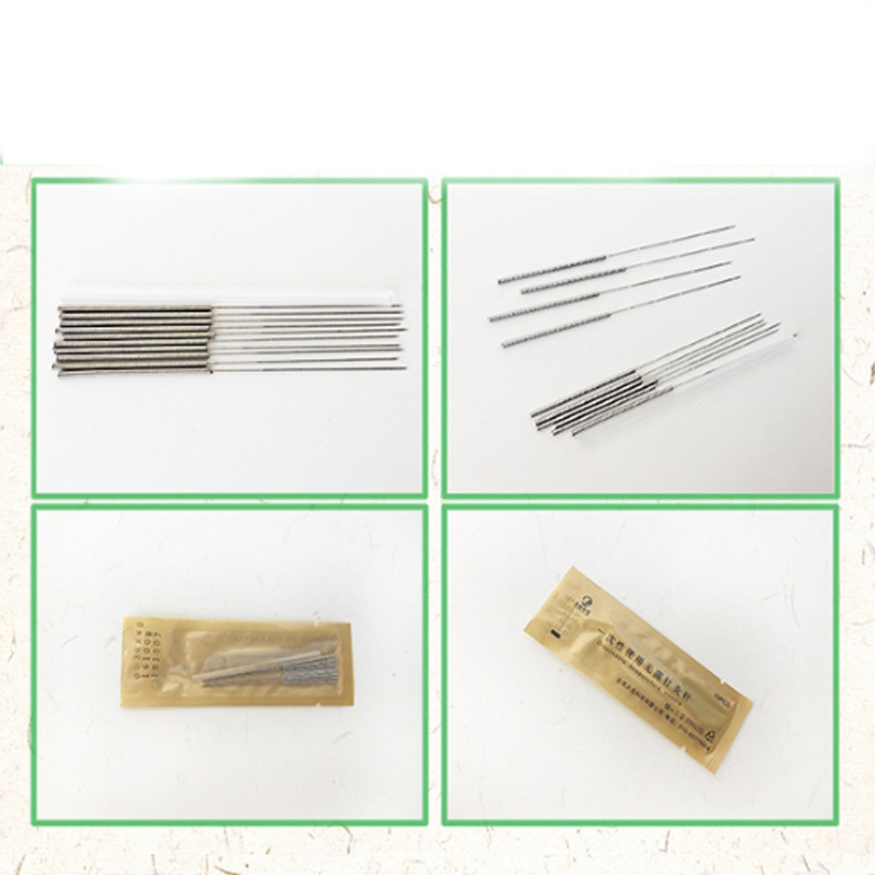 new 5000pcs/10box Hualong Disposable Acupuncture Needle 10 needle one tube