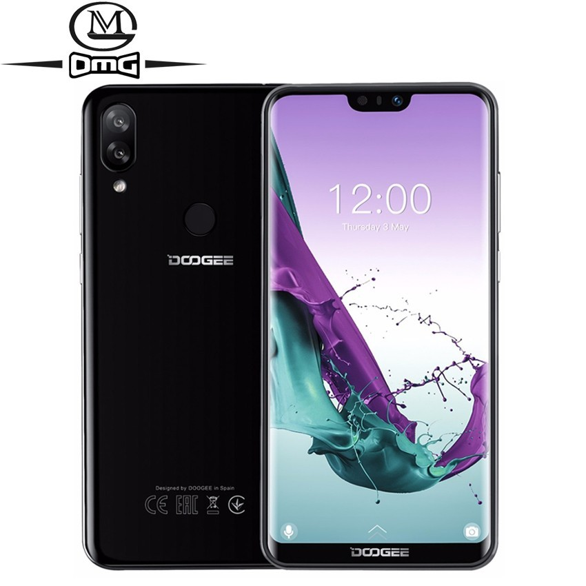 DOOGEE N10 Android 8 1 mobile Phone 16 0MP fingerprint Octa Core 3GB 32GB cell phones