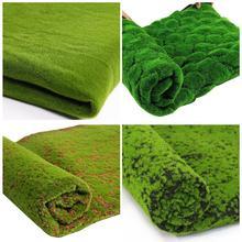 1 м* 1 м Пасхальный соломенный коврик зеленый искусственный газон ковер поддельный дерн домашний сад мох домашний пол DIY Свадебные украшения трава