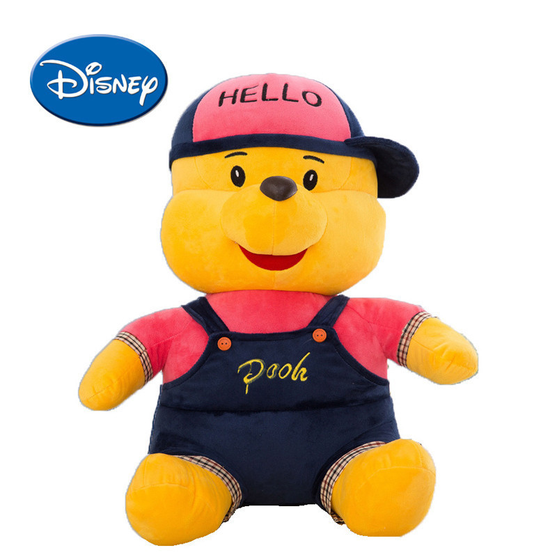Disney Creative Winnie The Pooh Stuffed Animals Party Version Of The Bear Cuddly Pillow Plush Toys Doll Birthday Gifts