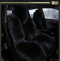 На ваш вкус авто аксессуары шерсть подушки сиденья автомобиля для MITSUBISHI lancer V3/5/6 Pajero Sport Outlander Pajero V73 V77 потепления