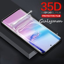 35D Hydrogel Film Full Cover On The For Samsung Galaxy A 90 80 70 60 40 50 30 20 Screen Protector M20 M30 Protective