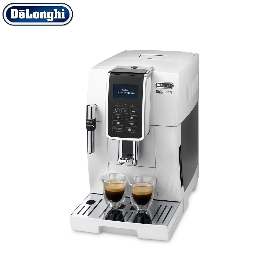 Coffee Machines Delonghi ECAM 350.35.W Home Kitchen Appliances household automatic preparation of hot drinks