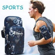 Нарукавный чехол для телефона на руку, спортивный нарукавник, подходит для 6,5 дюймового мобильного телефона, сумка для мобильного телефона brasalete Deportivo Porta Cellulare Braccio