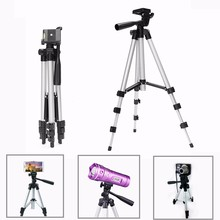 35 103cm 2 in 1 Universal Ripod Phone Holder Portable Tripod 4 Sections For Smartphone Telescopic