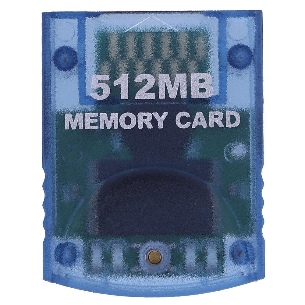 Professional 512MB Video Game Memory Card for Nintendo Wii Gamecube Console