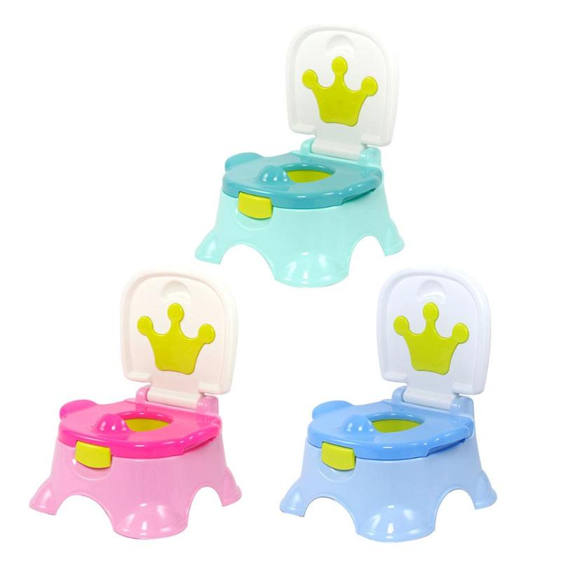 Dropshipp Baby Potty Training Seat Children's Potty Baby Toilet Seat With Adjustable Ladder Infant Toilet Training Folding Seat