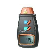 Портативный цифровой тахометр, лазерный Бесконтактный тач диапазон 2,5-99999 об/мин, ЖК-дисплей, измеритель скорости двигателя с 3 отражающими лентами