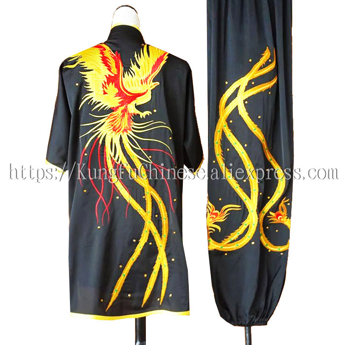 Chinese wushu uniform Kungfu clothing Martial arts suit taolu embroidered outfit for men women boy girl