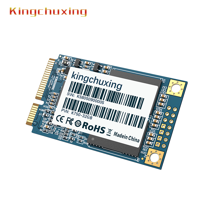 SSD mSATA Solid State Drive 32GB 64GB 128GB 256GB laptop desktop PC computer Ultrathin Extreme speed hard drive by Kingchuxing