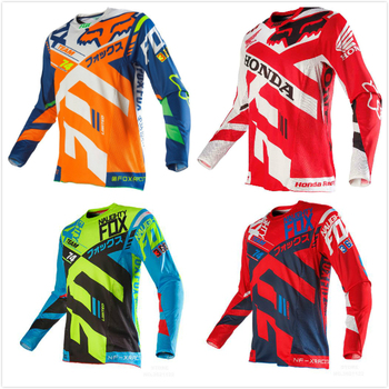 2019 Pro Team Motocross Jersey MOTO Riding Racing Jersey Downhill Jersey Ropa Maillot Ciclismo MX DH Tshirt MTB GP Clothing traje fox 180 negro