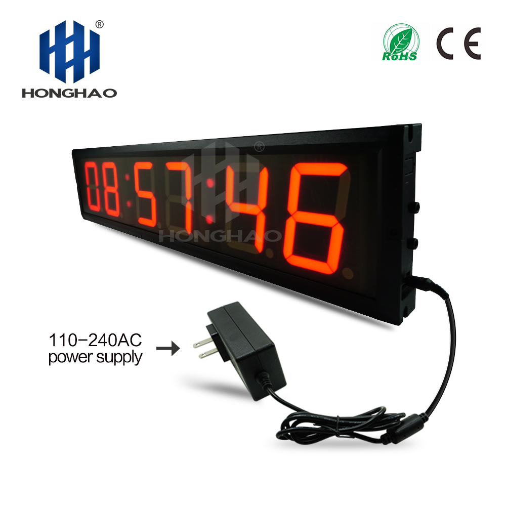 Fedex Free Shipping Fedex Free Shipping Fashion wall clock electronic desk calendar remote control stopwatch in Wall Clocks from Home Garden