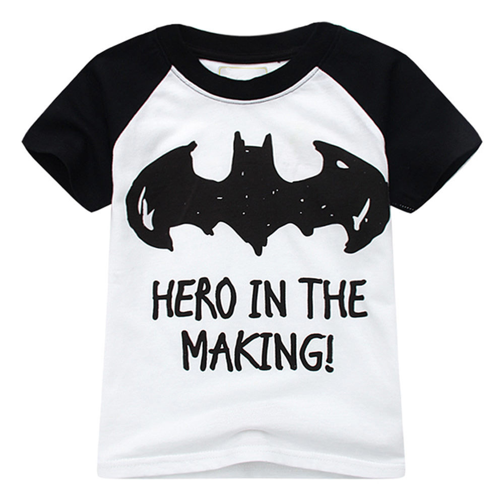 a93d4514a 18 Littlemandy Meninos Top Camisa Batman T Do Bebê Roupas de Verão Dos  Desenhos Animados Crianças Camisetas Para Meninos Crianças Roupas de Manga  Curta Novo
