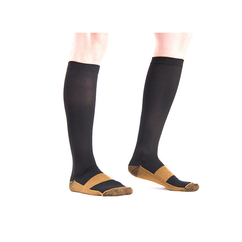 Copper Infused Compression Socks 20-30mmHg Graduated Men's Women's S-XXL