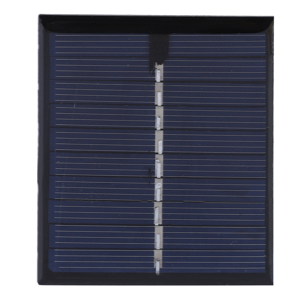 0,5 W 5 V Diy Solar Panel Polysilizium Platte Batterie Power Board 72x58 Outdoor Power Solar Panel SchöNe Lustre