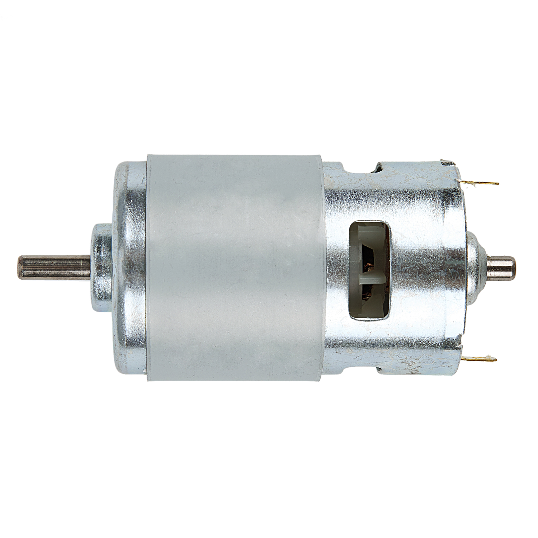 1PCS DC Gear Box Reducer Variable Speed Motor 37mm Diameter High Torque 2 Pins