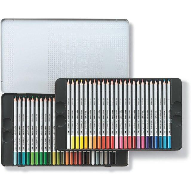 Карандаши цветные акварельные Karat Aquarell, 48 цветов, Staedtler