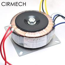 CIRMECH Dual ac 28v 12V Одиночный 12v 200W трансформатор для предусилителя усилитель тон доска используется 110V 220V опционально