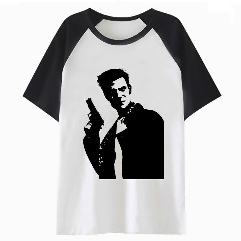 max payne   t     shirt   hop top for hip tshirt   t  -  shirt   streetwear men harajuku funny male clothing tee I3734